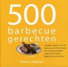 Beste barbecue kookboeken: 500 barbecuegerechten