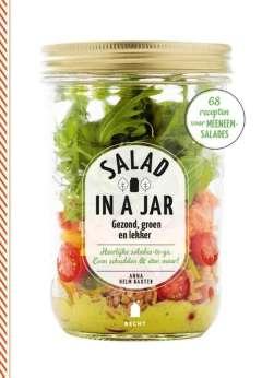Vegetarische kookboeken: Salad in a jar